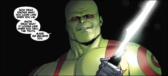 Guardians Of The Galaxy #5 Drax