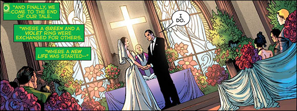 Hal and Carol get married