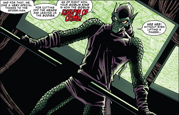 Superior Spiderman #14 Goblin King