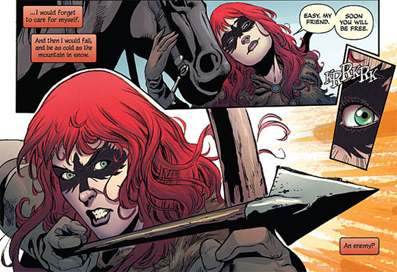 Red Sonja #3 image 2