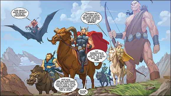 Thor God of Thunder #14 Hunt