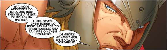 Thor God of Thunder #14 Oath