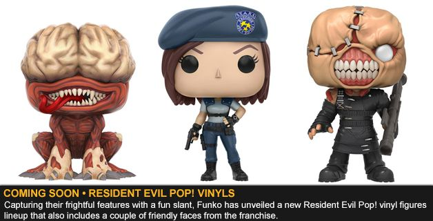 COMING SOON • RESIDENT EVIL POP! VINYL FIGURES