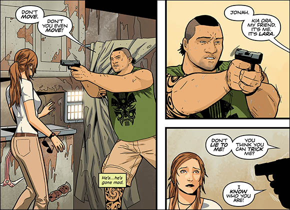 Tomb Raider #1 Jonah