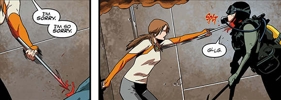 Tomb Raider #4 Harpoon