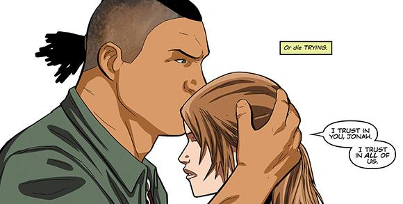 Tomb Raider #4 Trust
