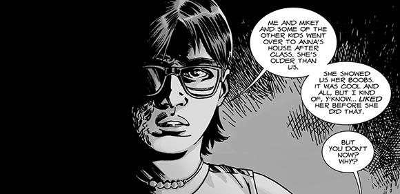 Walking Dead #127 Carl Grimes