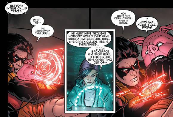 Batman Eternal #12 Harper