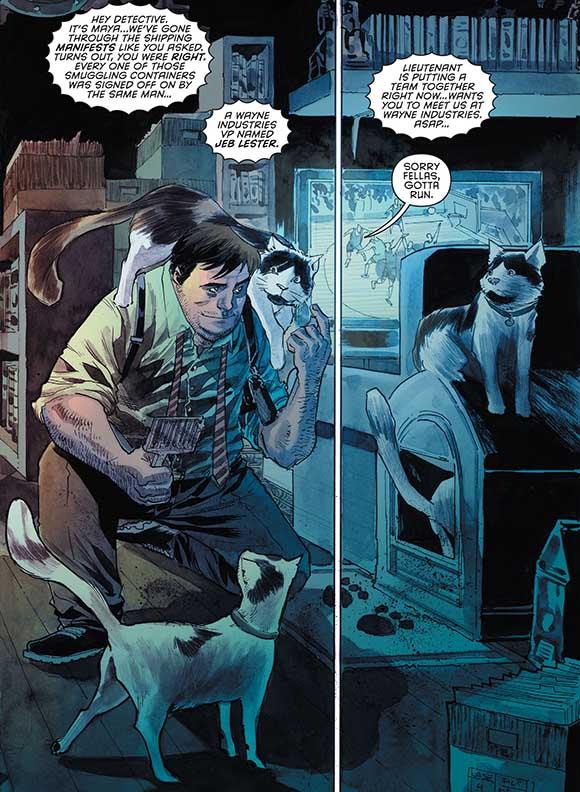 Detective Comics #32 Bullock