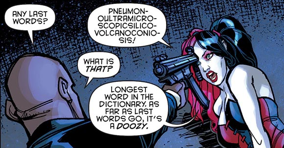 Harley Quinn #6 Last Words