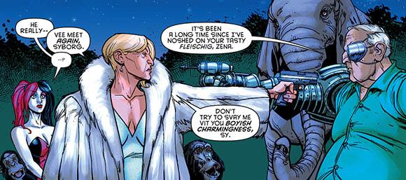 Harley Quinn #6 Noshed