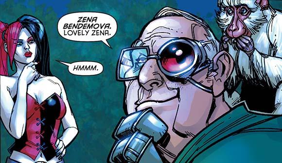 Harley Quinn #6 Zena Bendemova