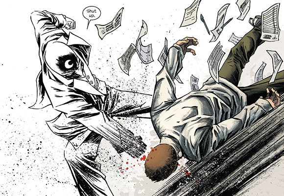 Moon Knight #4 Shut up