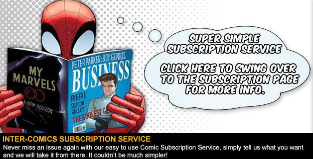 INTER-COMICS SUBSCRIPTION SERVICE