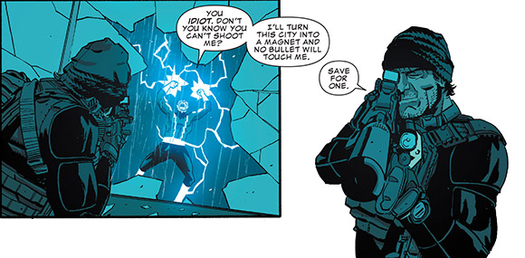 The Punisher #6 Electro