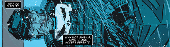 The Punisher #6 Give up