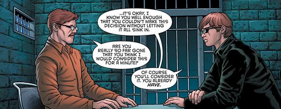 Batman Eternal #13 Jim Gordon Jnr