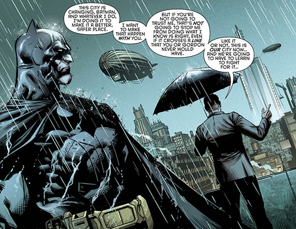 Batman Eternal #14 Bard and Batman