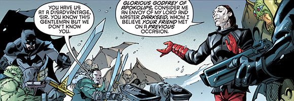 Robin Rises Omega #1 Godfrey