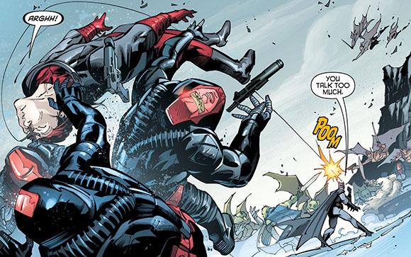 Robin Rises Omega #1 Grappling