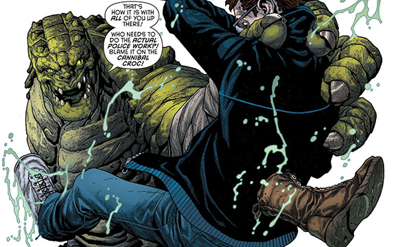 Batman Eternal #18 Killer Croc