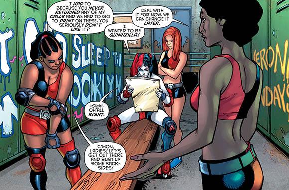 Harley Quinn #8 Quinnzilla