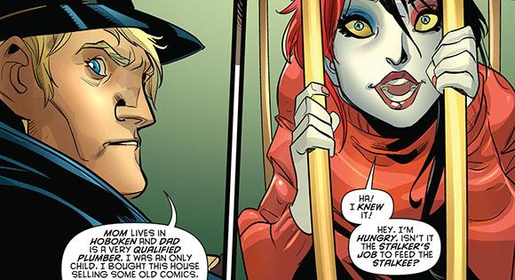 Harley Quinn #9 Caged