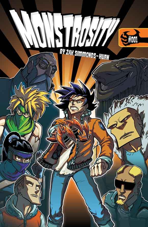 Monstrosity #1 Cover