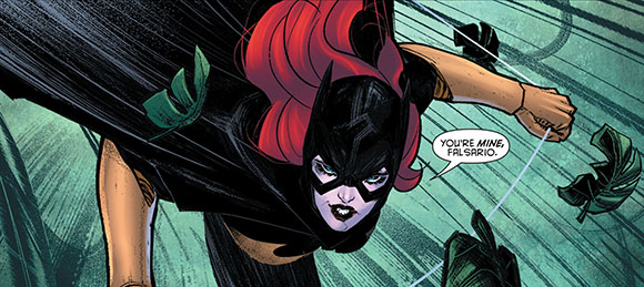Batman Eternal #20 Batgirl