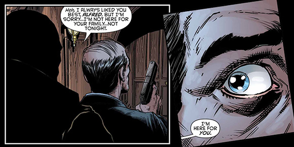 Batman Eternal #21 Alfred