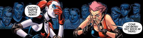 Harley Quinn #10 Ouch