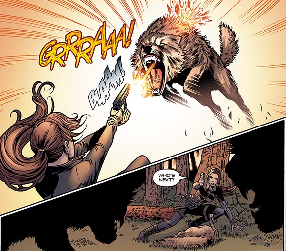 Tomb Raider #7 Wolves