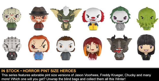 IN STOCK • HORROR PINT SIZE HEROES