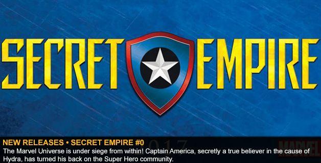 NEW RELEASES • SECRET EMPIRE #0